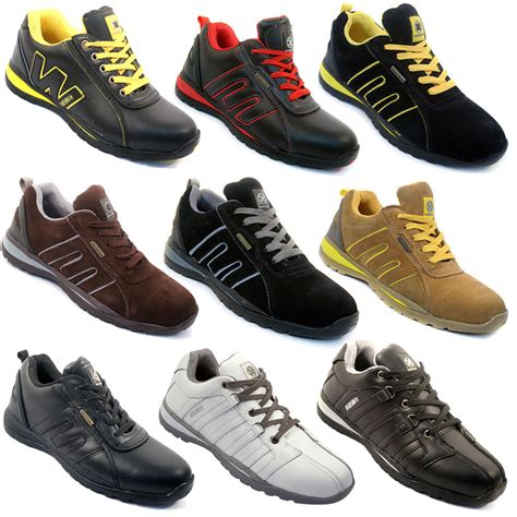 Adidas Safety Boots Black safety trainers shoes boots work steel toe cap hiker