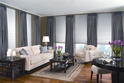 How To Decorate Your Livingroom hanging curtains floor to ceiling windows homeminimalis