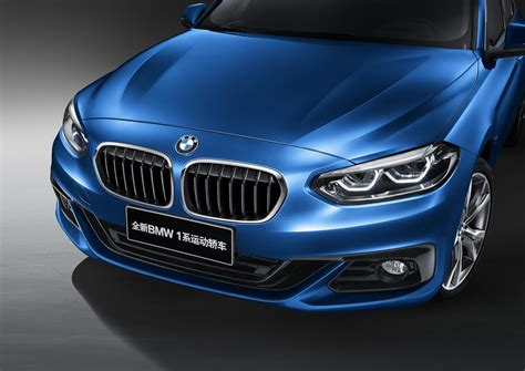 china bmw bmw details china only 1 series sedan ahead of launch