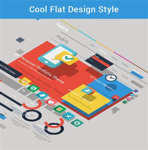 theme wordpress free flat simplicity creative flat retina theme wordpress