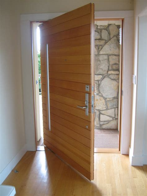 Pivot Front Doors Piedmont Pivot Modern Front Doors San Francisco By Artistic Millworks