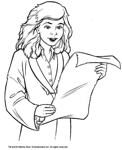 Hermione Grangers Name Coloring Pages Sketch Coloring Page Hermione Coloring Pages