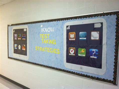 classroom layout strategies iknow test taking strategies bulletin board for state