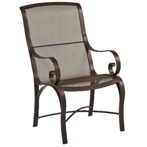wingate mesh outdoor dining set by woodard outdoor