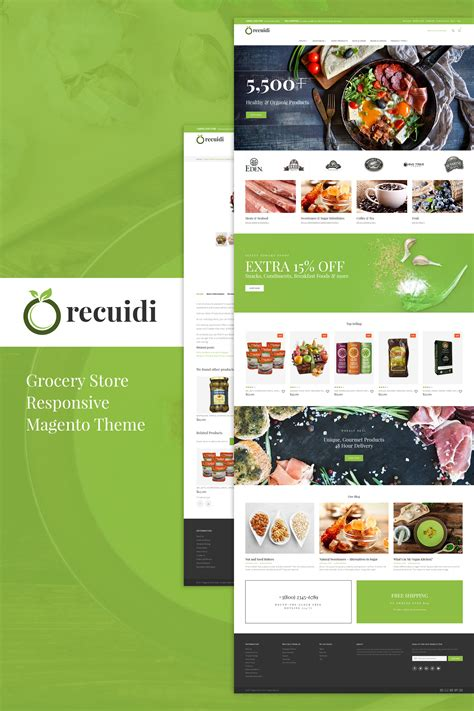 store layout features recuidi healthy food store magento theme