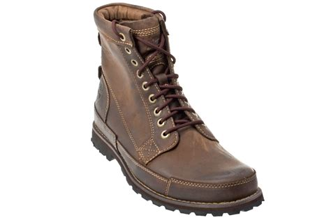 mens brown leather timberland boots timberland earthkeepers s brown leather ankle