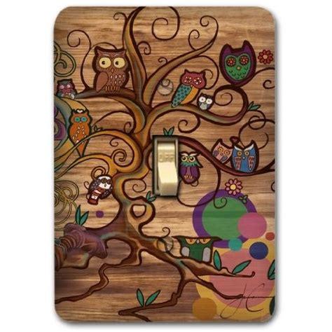 owl kitchen decor owl kitchen decor owl brown metal light switch plate