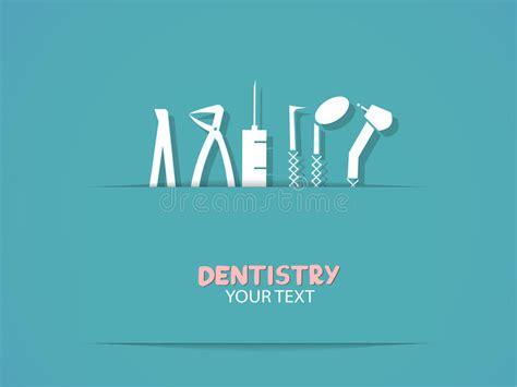 imagenes odontologicas gratis предпосылка с инструментами зубоврачевания иллюстрация