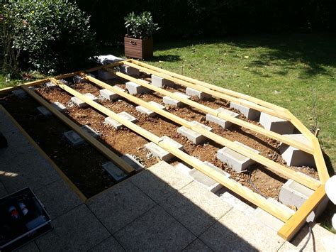 comment poser une terrasse en bois 4357 poser une terrasse awesome prix pose terrasse en bois