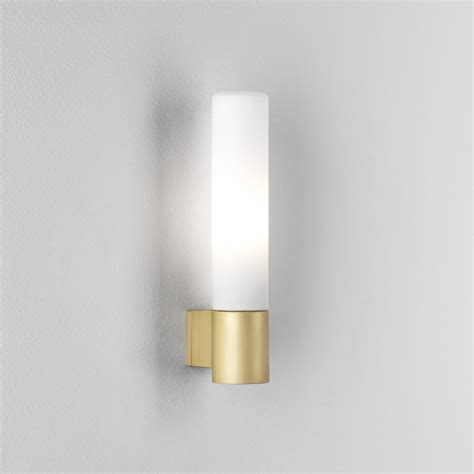 gold wall lights astro bari bathroom wall light