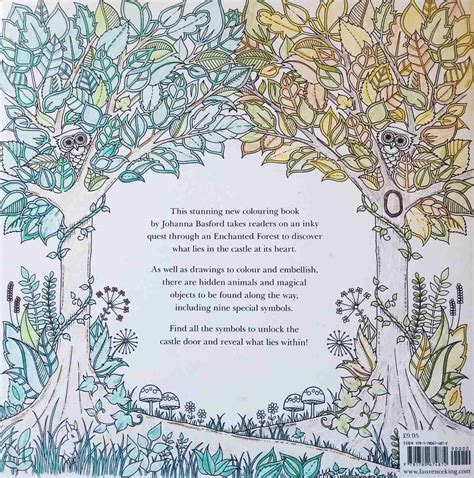 libro enchanted magical forests enchanted forest bosque encantado basford terapia 15 000 en mercado libre