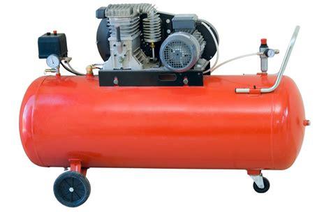 types    air compressors