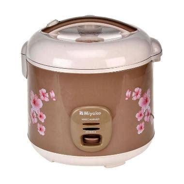 Daftar Rice Cooker Merk Miyako jual miyako mcm 509 rice cooker harga kualitas