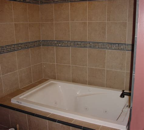 Installing Bathroom Tile Install A Tub Surround Or Shower Surround Installing Bathroom Tile Around Tub Tsc