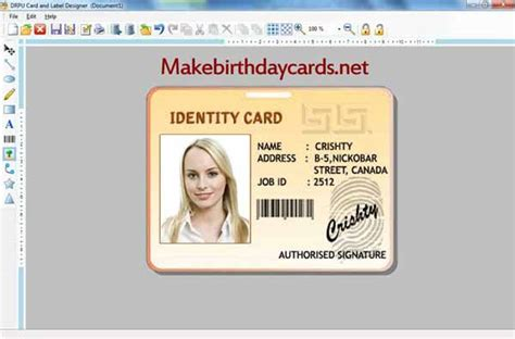 how to make an id card make id card free and review