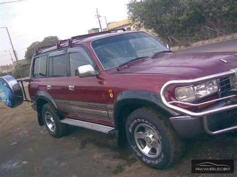 Toyota Land Cruiser 1995 Toyota Land Cruiser 1995 For Sale In Karachi Pakwheels