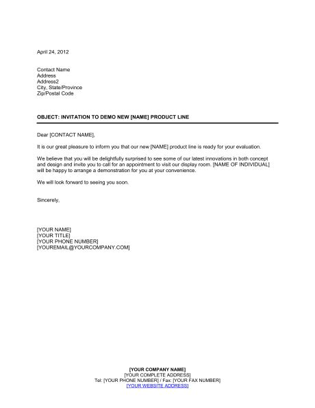demo cover letter business letters of invitation sles invitation to
