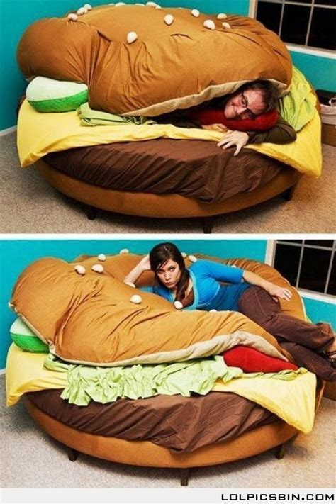 cheeseburger bed burger bed interior design pinterest