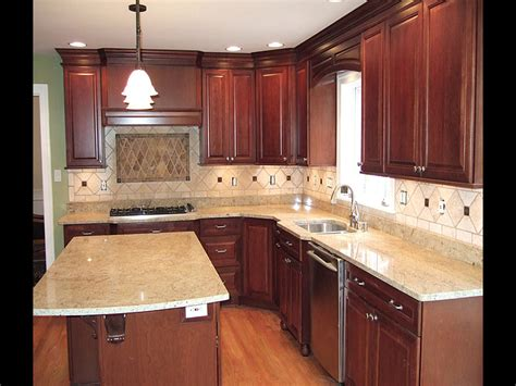 Photos Of Kitchens With Cherry Cabinets by Kitchen Countertops Suvidha Innovation