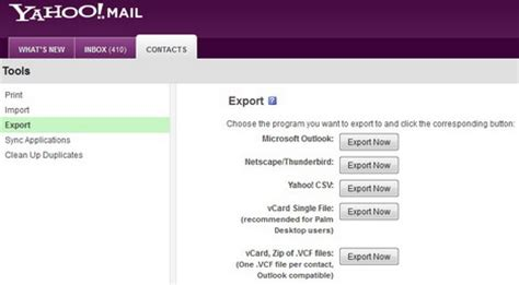 yahoo email backup how to backup and export email contacts from gmail yahoo