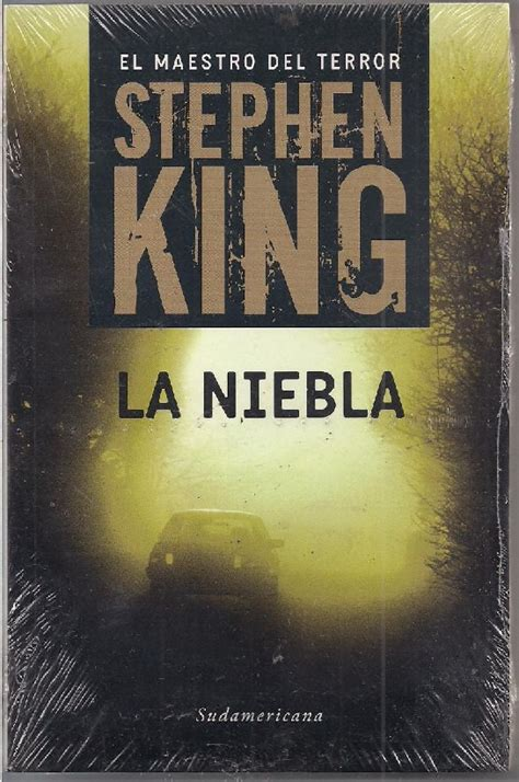 libro banderas en la niebla book of horror the mist stephen king jack incongruente