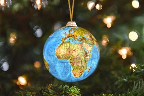 around the world ornaments a flower about flowers plants gifting
