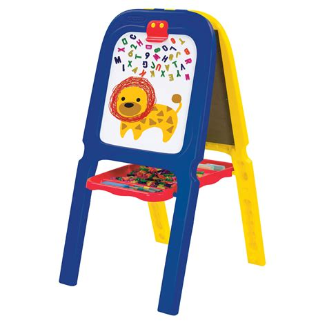 magnetic easel for toddlers crayola 3 in 1 double easel