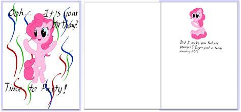 Gamis Believe Bg 05 pinkie pie birthday card 101 birthdays
