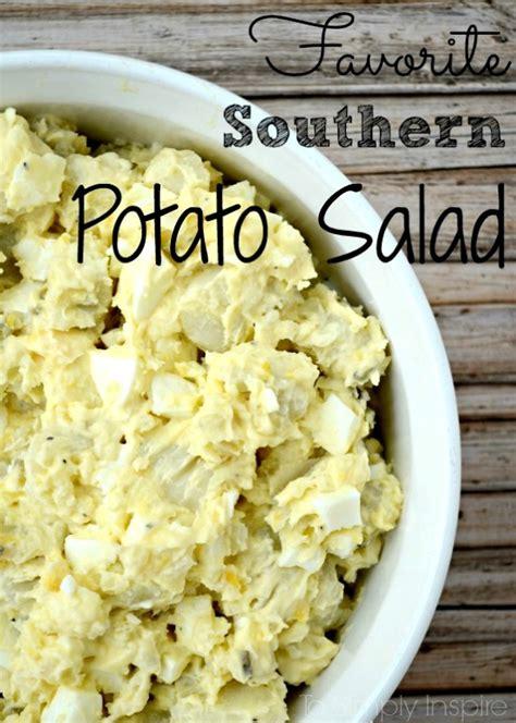 southern potato salad recipe add a pinch my favorite southern potato salad recipe just a pinch