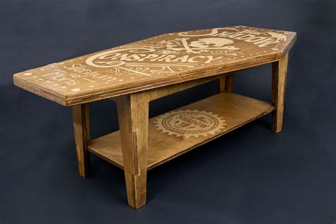 Handcrafted Coffee Table - handmade shadow coffee table the shadow conspiracy