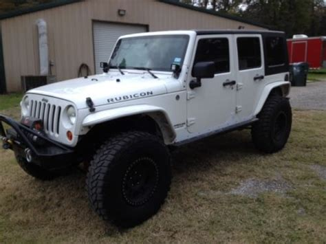 2007 Jeep Rubicon 4 Door For Sale by Sell Used 2007 Jeep Wrangler Unlimited Rubicon In Conroe