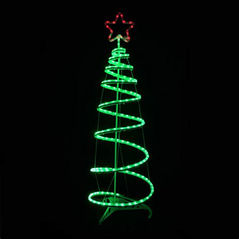 spiral tree outdoor decorations green spiral tree led rope light decoration indoor