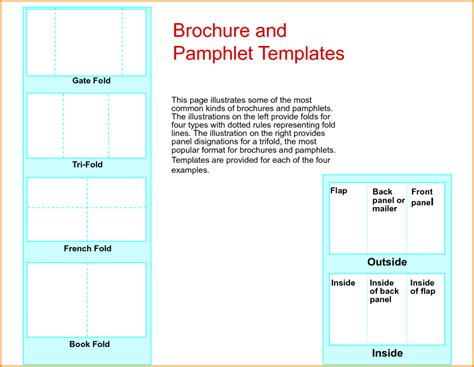 what template is this academic studies phlets print paper templates