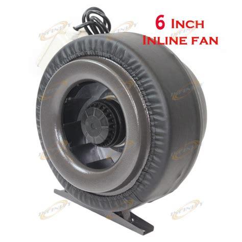 800 cfm inline exhaust fan 6 quot inline hydroponic ventilation fan air blower 400 cfm