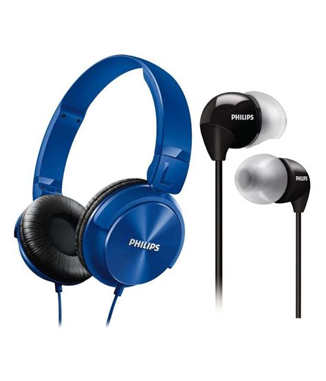 Philips In Ear Headphones She 3590 philips shl3060 she3590 ear wired without mic headphone blue buy philips shl3060