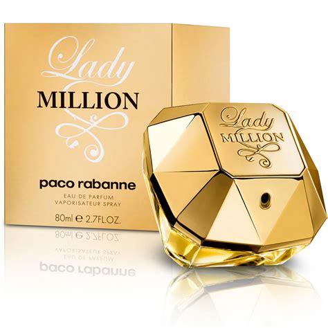 Parfum Paco Rabanne perfume million paco rabanne feminino eau de parfum