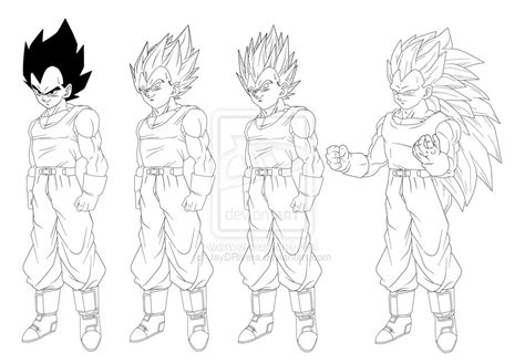 Vegeta Character Sheet By Jaydrivera On Deviantart Z Battle Of Gods Coloring Pages