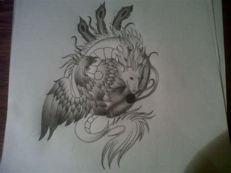 dragon phoenix tattoo 33 most powerful yin yang tattoos ideas design with