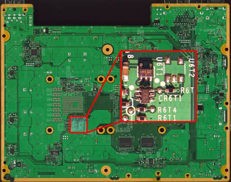 resistor xbox 360 protecting efuses and jtag from updates r6t3 u6t1 u6t2 methods