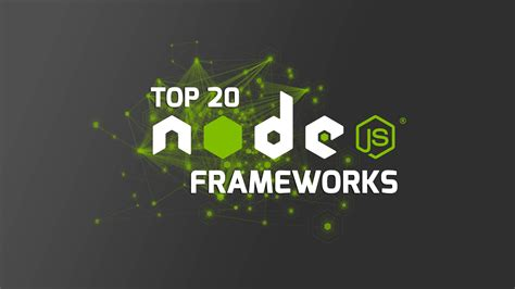 best node js framework most popular node js framework 2016 i m programmer