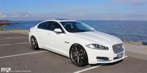 jaguars niche get some style with this jaguar xf on niche wheels