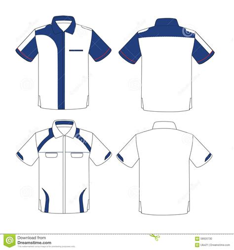 corporate shirt template vector design stock vector image 58920730