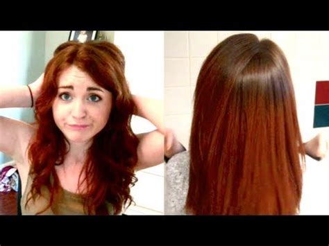 home tricks to make the hair straight from top and curly from bottom how i straighten my hair tips and tricks youtube