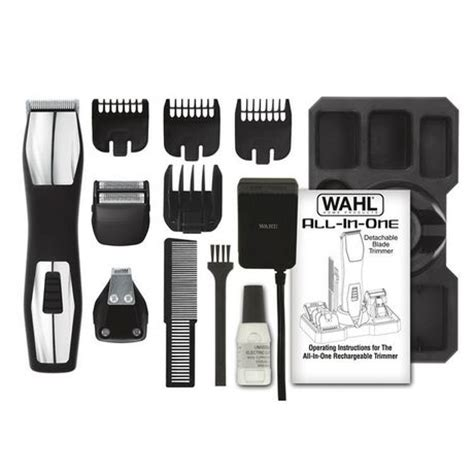 wahls groomsman pro all in one rechargeable grooming kit wahl groomsman pro rechargeable all in one trimmer