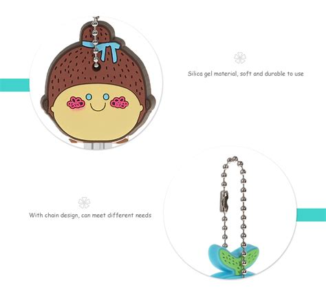 Character Key Cover creative key cover character silica gel