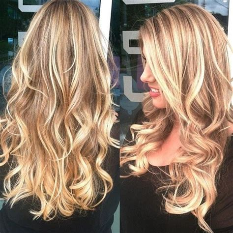 long blonde hair with dark low lights 2018 popular long hairstyles with highlights and lowlights