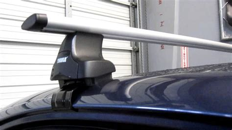Thule 480r Traverse Aeroblade Roof Rack by 2013 Subaru Legacy With Thule 480r Traverse Aeroblade Roof