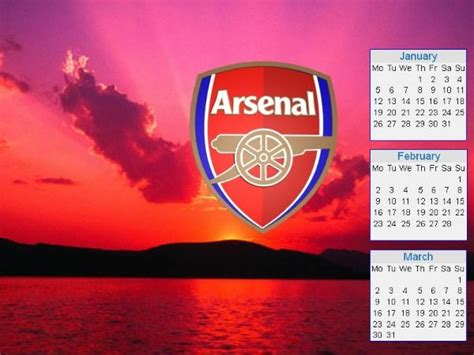 arsenal calendar calendars 2015 of arsenal football club wallpapers
