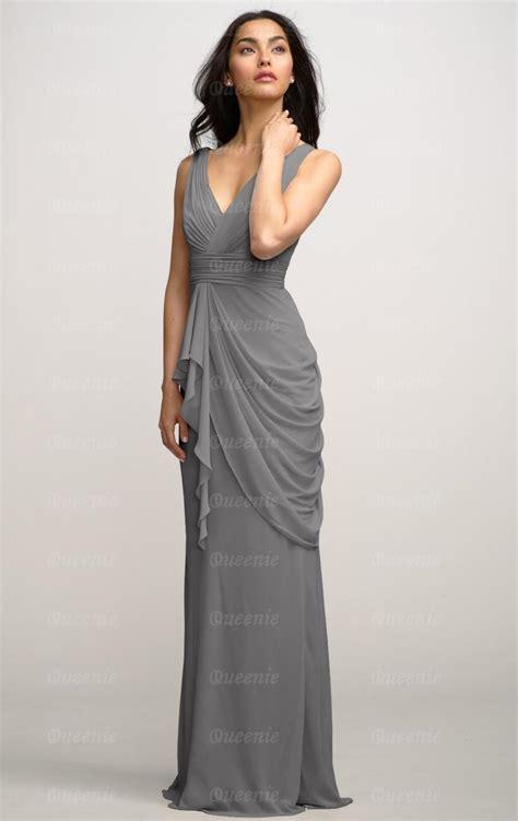 Grey Bridesmaid Dress by Chiffon Grey Bridesmaid Dress Bnnbe0015 Bridesmaid Uk