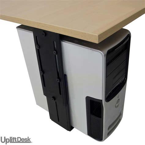 Computer Holder For Desk Uplift Cpu Holder Shop Uplift Cpu Holders